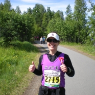 Running Anchorage half marathon