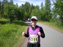 Running Anchorage half marathon