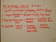 fat blasting circuit