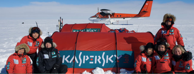 Kaspersky Commonwealth Antarctic Expedition. Photo Credit:Robert Hollingworth